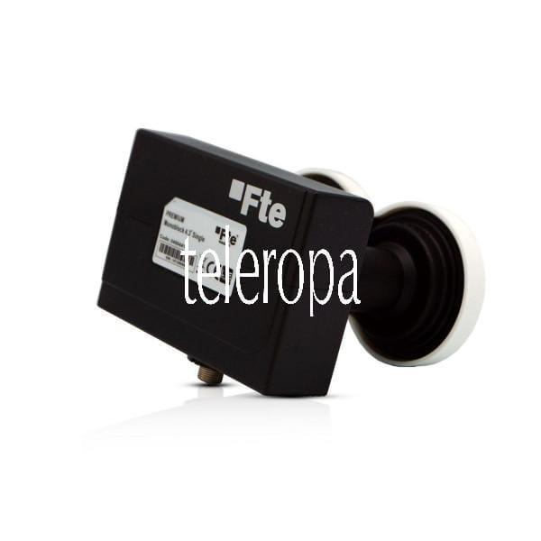 Premium Monoblock Single LNB 4,3°(Zwei-Satelliten-Positionen, HD 1080, 3D, 4G LTE Filter, UHD)