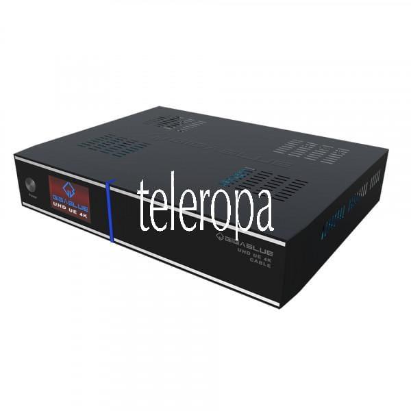 UHD UE 4K CABLE DVB-C Kabel Linux Receiver (1x CI, LAN, HDMI, 3x USB)