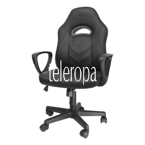Klassischer Gaming Stuhl (Junior Größe, PU Leder, ergonomisch, höhenverstellbar)