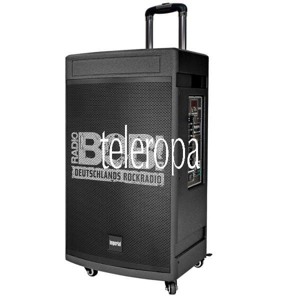 BOBs ROCK-BOX Karaokesystem mit 200 Watt RMS Soundleistung inkl. Subwoofer