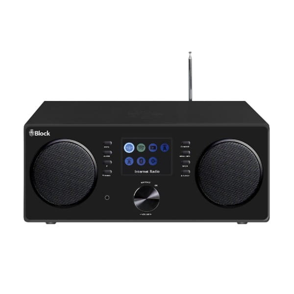 Block CR-20 (Internetradio, Speaker, WLAN, Bluetooth, DAB+ Radio)