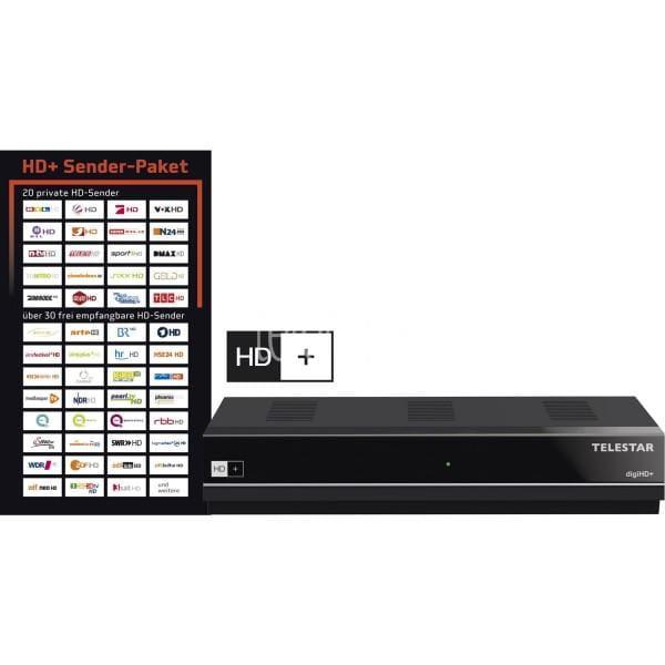 digiHD+ HDTV Satreceiver gebraucht/generalüberholt