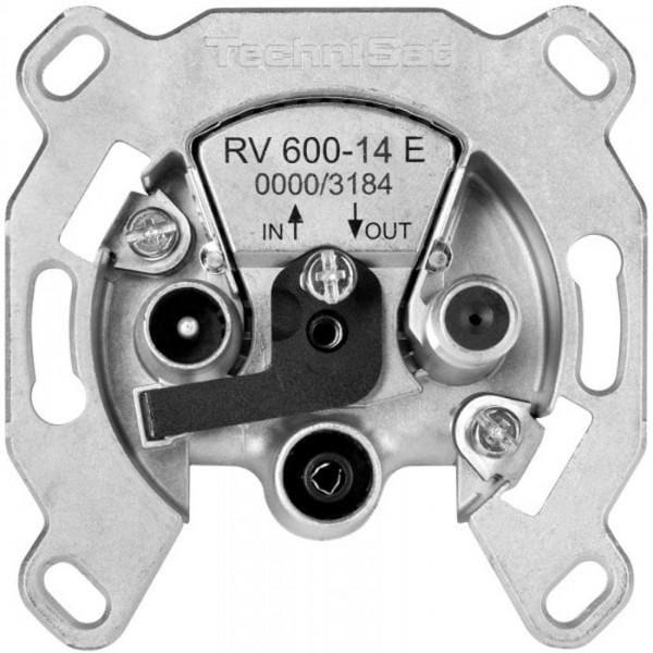 Durchgangsdose RV 600-14 E mit Überlastschutz und Sicherheitselektronik