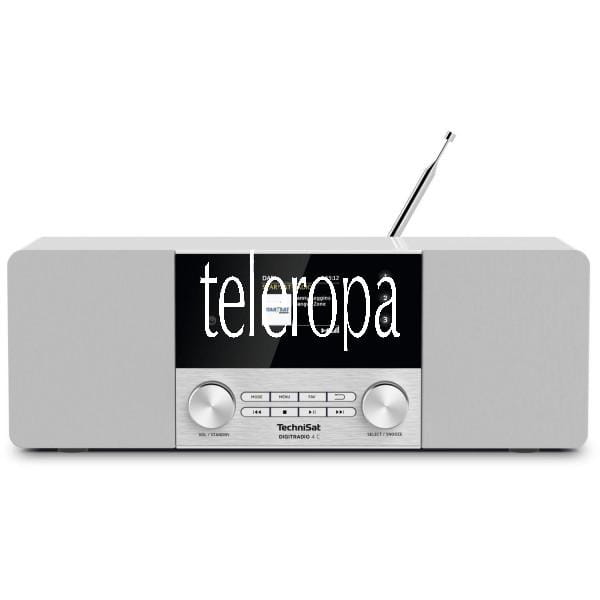 TechniSat DIGITRADIO 4 C (Radio, Digitalradio, DAB+, UKW, Bluetooth, Farbdisplay, AUX, Radiowecker) Bild 1