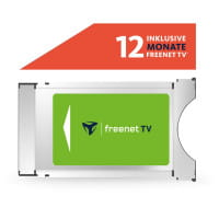 CI+ Modul inkl. 12 Monate freenet TV¹ für DVB-T2 HD Antenne bis zu 80 Sender