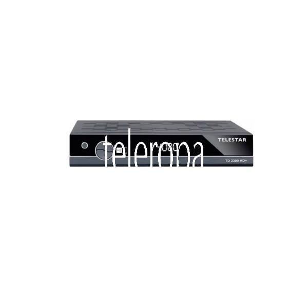 TD 2300 HD+ Receiver (HDMI, USB, 4000 Programmspeicherplätze, 4-stelliges LCD Display) gebraucht / g