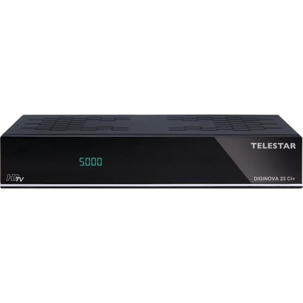 DIGINOVA 23 CI+ Digitaler Receiver für SAT-, DVB-T2- und Kabel-Empfang