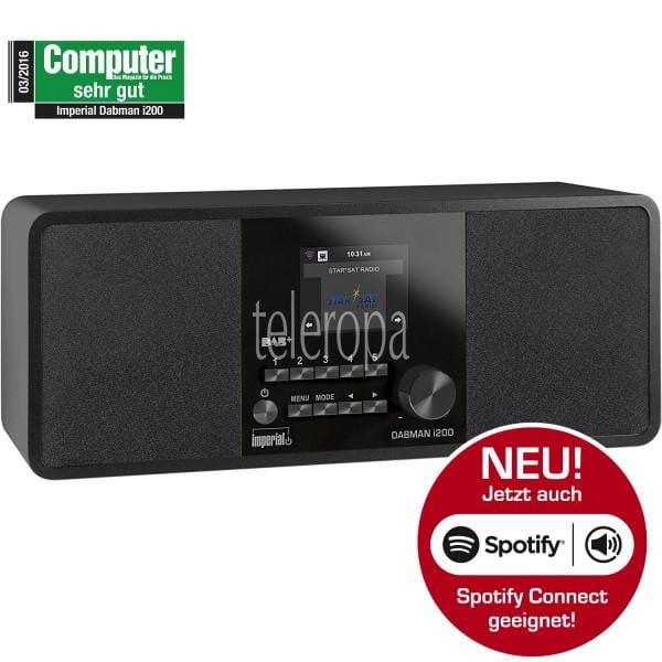 IMPERIAL DABMAN i200 DAB+/UKW/Internetradio, Spotify Connect Bild1
