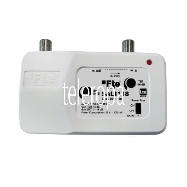 SAL 1118 Breitbandverstärker (1 x Eingang - 1 x Ausgang, Verstärkung: 11-18db, regelbar, Innenmontag