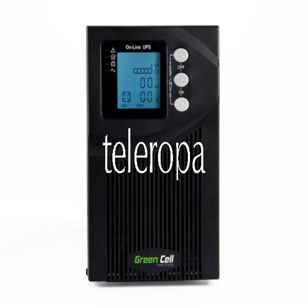 UPS Online MPII 1000VA mit LCD-Anzeige