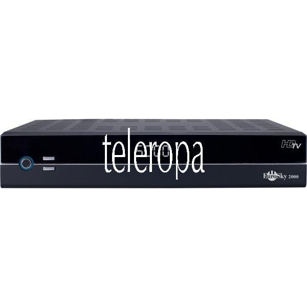 TELESTAR EuroSky 2000 Digitaler HDTV Satellitenreceiver (Zertifiziert und Generalüberholt) Bild