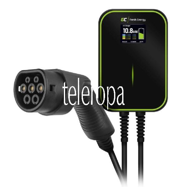 Wallbox GC EV14 PowerBox 22-kW-Ladegerät (mit Typ-2-Kabel zum Laden von Elektroautos und Plug-In-Hybriden, für EV Tesla, Leaf und mehr)