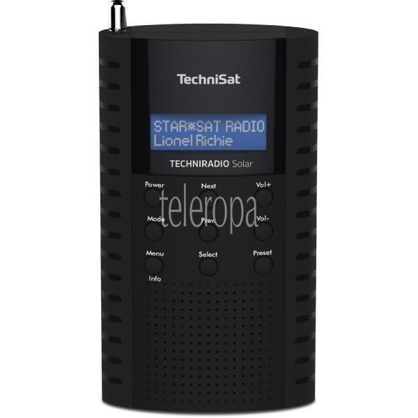 TechniSat TECHNIRADIO Solar (DAB+, Internetradio, Radio, Digitalradio, Solar Radio, LCD, USB) Bild 1