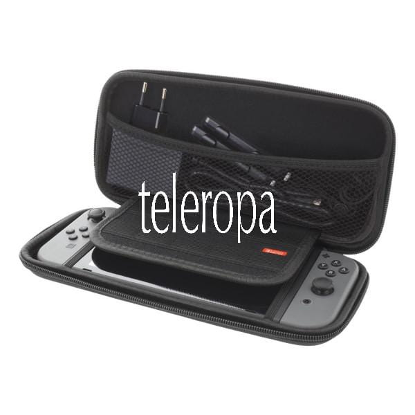 Nintendo Switch Tragetasche (Hard Carry Case, 10 Taschen für Spiele)