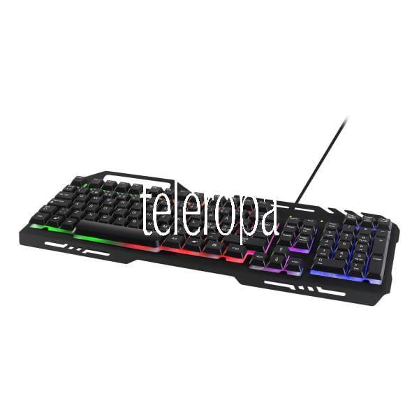 RGB Gaming Tastatur (RGB-Hintergrundbeleuchtung, Nordisches Layout)