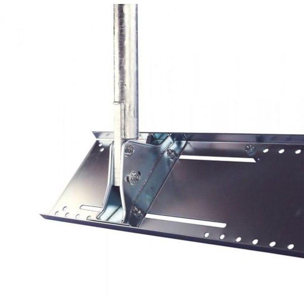 Dachsparrenhalter DSH 1200-50S mit verzinktem 48 mm Stahlmast