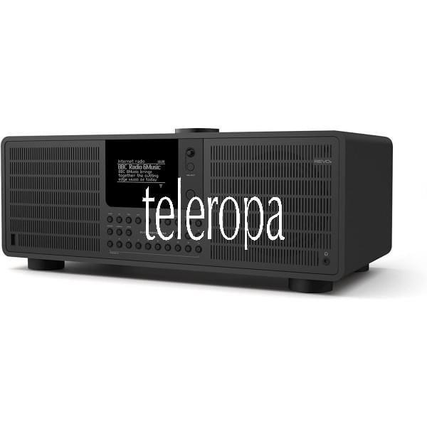 SuperSystem Internet-/DAB+ Radio (Stereo Sound, Internet/DAB+/DAB/UKW,Spotify,WLAN,LAN,Aux In)