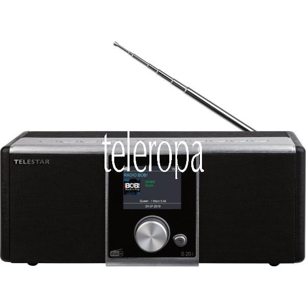 TELESTAR S 20i (Radio, Internetradio, DAB+, UKW, USB, Bluetooth, Hybridradio) Bild 1