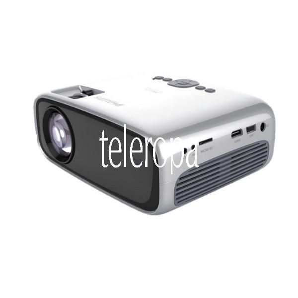 NeoPix Easy Play Beamer (Kompakter Projektor, mit WiFi und Bluetooth, 2600 Lumen LED, 480p Auflsöung