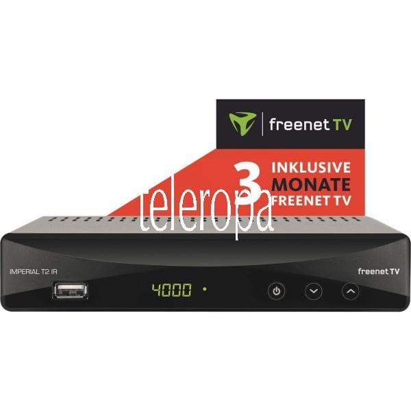 TELESTAR T2 IR DVB-T2 Receiver inkl. freenet TV Bild1