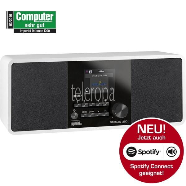 IMPERIAL DABMAN i200 DAB+/UKW/Internetradio, Spotify Connect Bild1