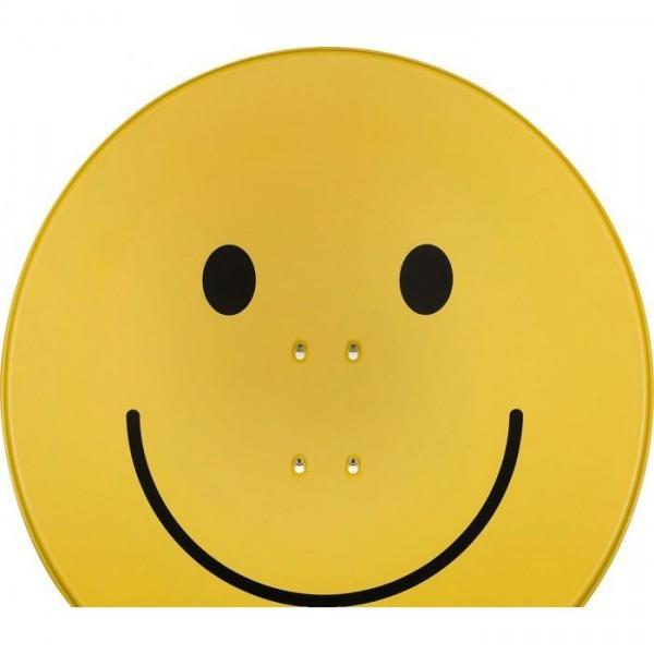 SATMAN 850 smiley-gelb (Spiegelblech 85 cm)