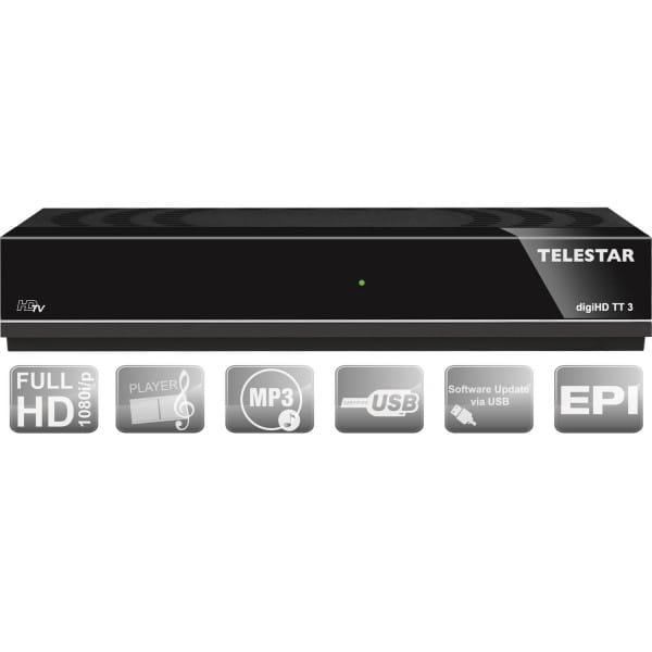 digiHD TT3 DVB-T 2 Receiver gebraucht/generalüberholt