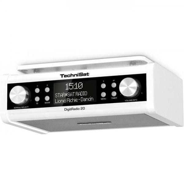 DIGITRADIO 20 weiß Küchenradio