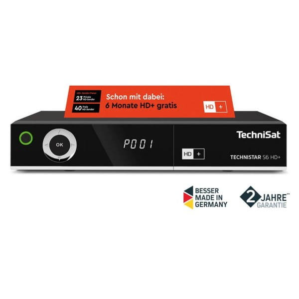 TECHNISTAR S6 HD+ HDTV Sat-Receiver