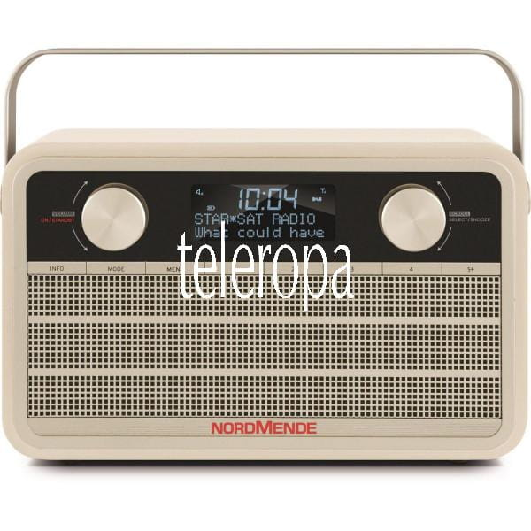 Nordmende Transita 120 DAB+ Digitalradio im Retrolook Bild7