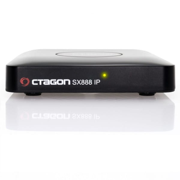 SX888 IP H265 Mini IPTV Box Receiver mit Stalker, m3u Playlist, VOD, Xtream, WebTV (USB, HDMI, LAN)