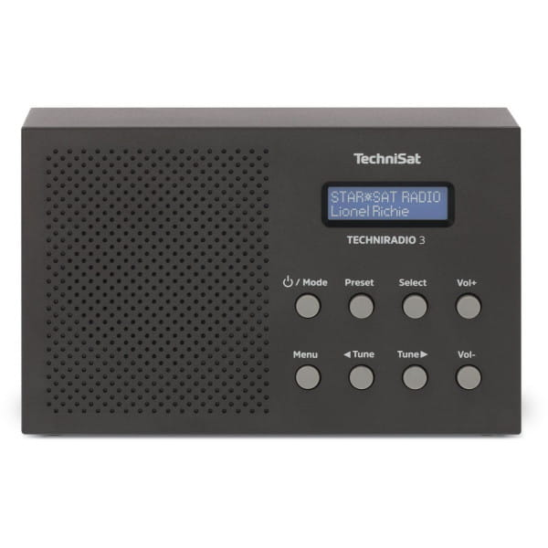 TechniSat TECHNIRADIO 3, kompaktes/portables Gerät mit DAB+ oder klassischem UKW Bild 1