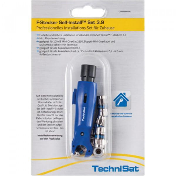 F-Stecker Self-Install Set 3.9