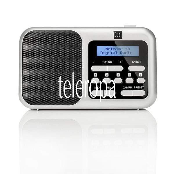 DAB 4.2 Portables DAB(+)/UKW-Radio mit Kopfhöreranschluss