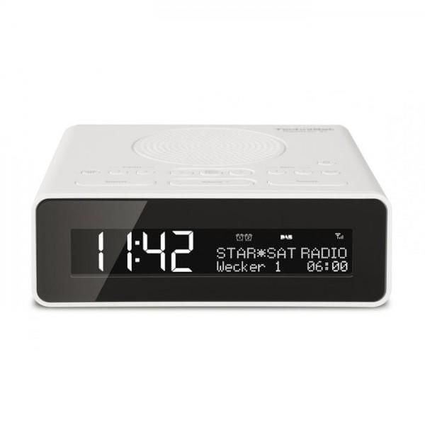 DIGITRADIO 51, weiß DAB+/UKW Uhrenradio
